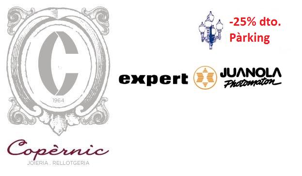 PROMOCIONES LA FAROLA: 25% de descuento para los clientes de JOYERÍA COPÈRNIC y JUANOLA PHOTOMATON – EXPERT
