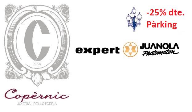 PROMOCIONS LA FAROLA: 25% de descompte per els clients de JOIERIA COPÈRNIC i JUANOLA PHOTOMATON – EXPERT